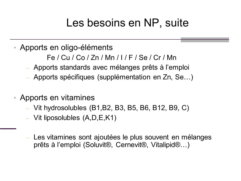 Apports en oligo-éléments Fe / Cu / Co / Zn / Mn / I / F / Se / Cr / Mn – Apports standards avec mélanges prêts à lemploi – Apports spécifiques (suppl