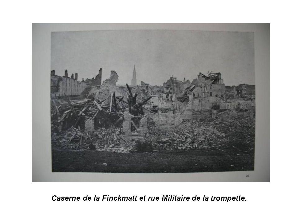 ruines du Faubourg de Pierre