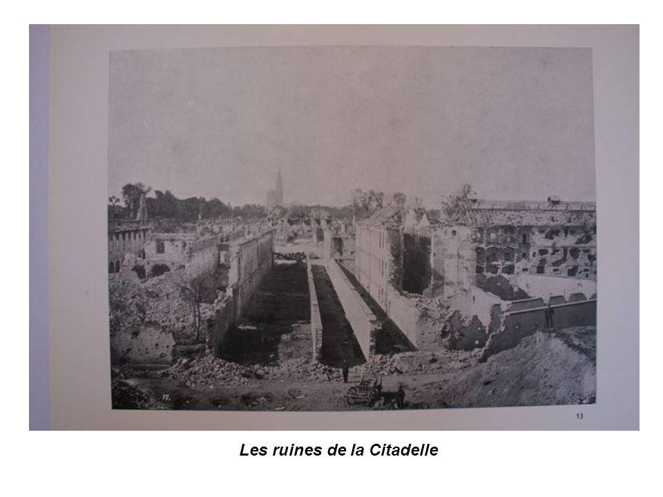 Soldats Prussiens à la citadelle