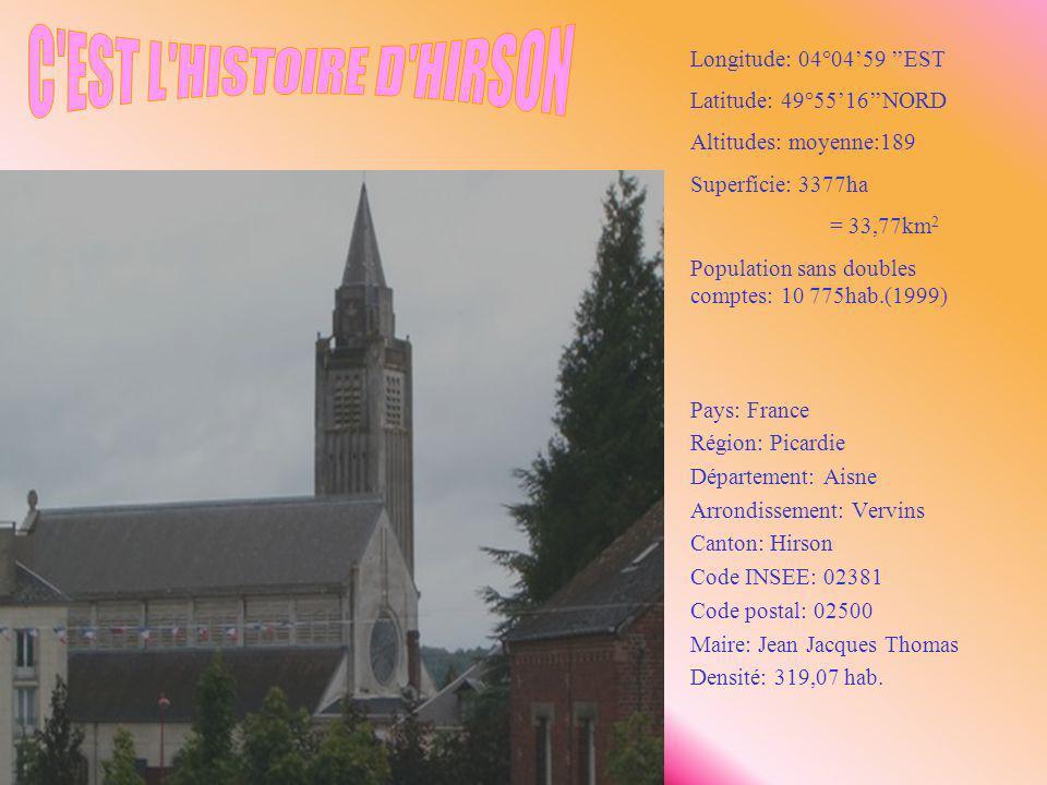 Pays: France Région: Picardie Département: Aisne Arrondissement: Vervins Canton: Hirson Code INSEE: 02381 Code postal: 02500 Maire: Jean Jacques Thoma