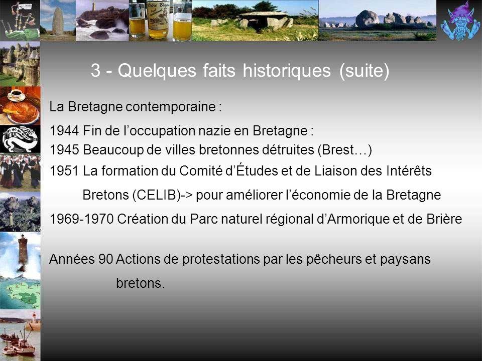 Réunion de la Bretagne à la France : 1532 Claude (fille dAnne de Bretagne et François 1 er, roi de France) cède la Bretagne à la couronne. Cest lunion