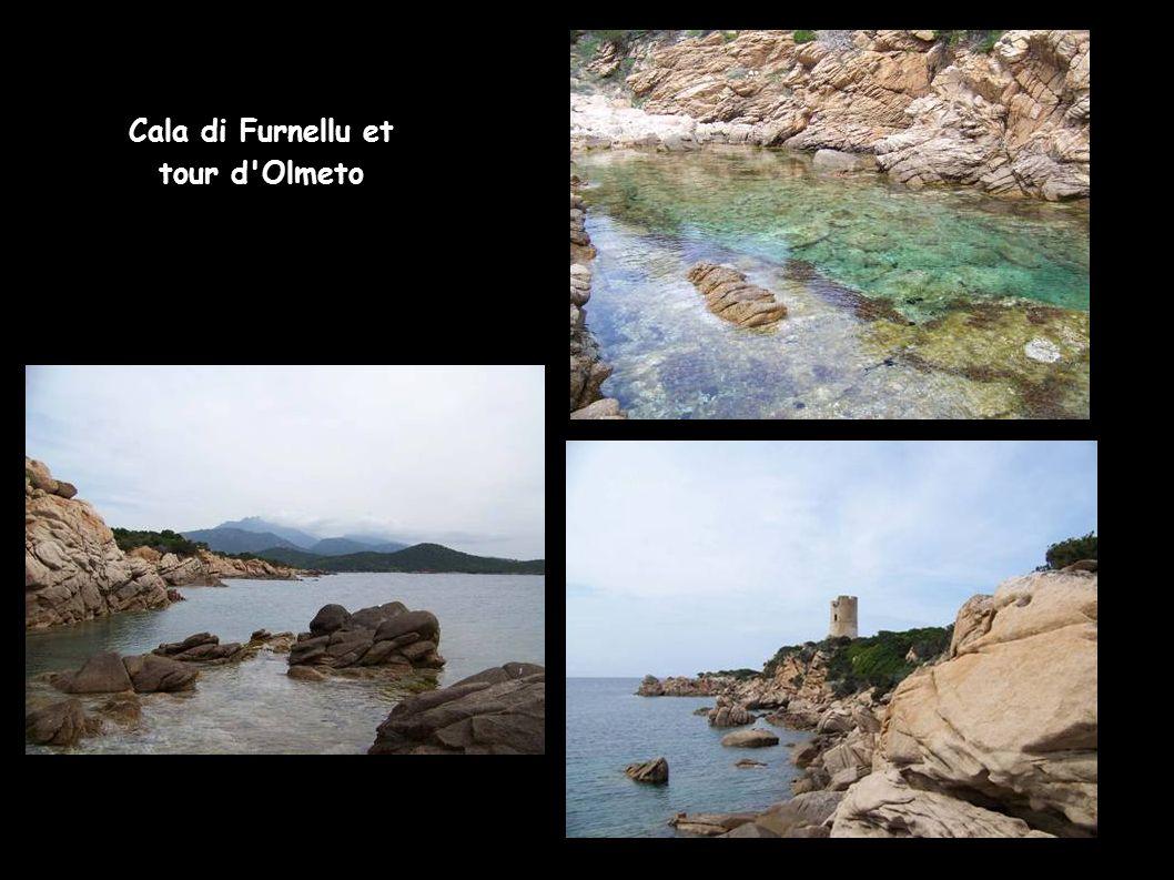 Cala di Furnellu et tour d'Olmeto