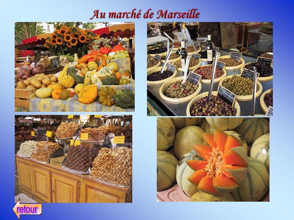 Au marché de Marseille