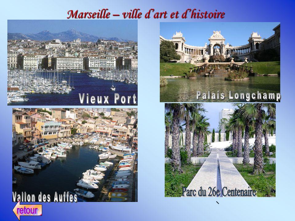 Marseille – ville dart et dhistoire
