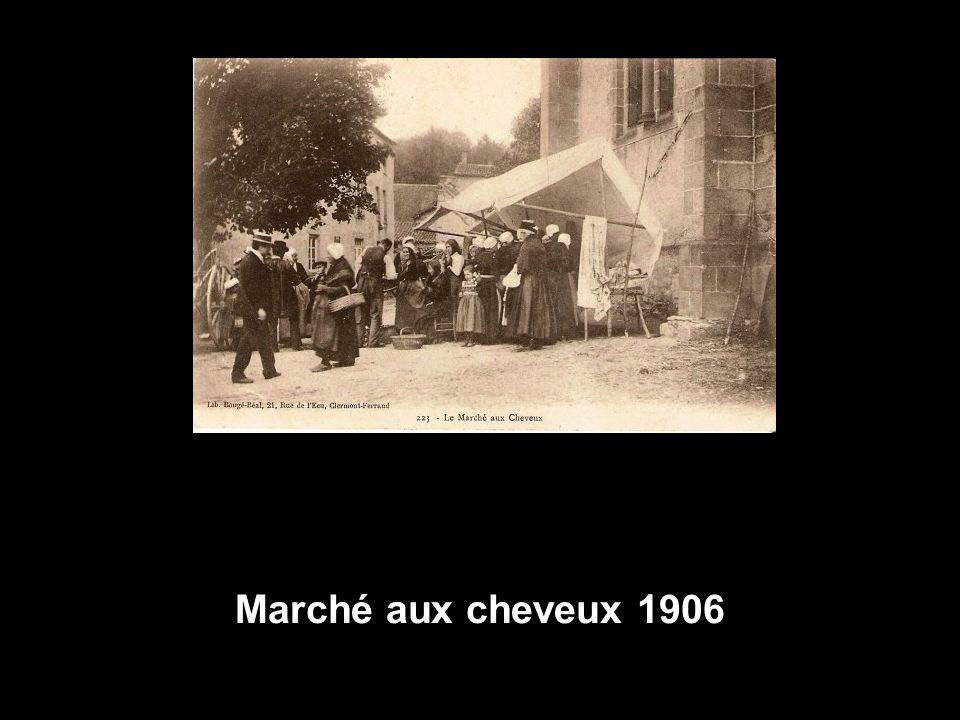 Marché aux cheveux 1906