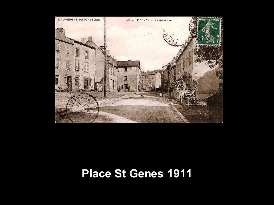 Place St Genes 1911
