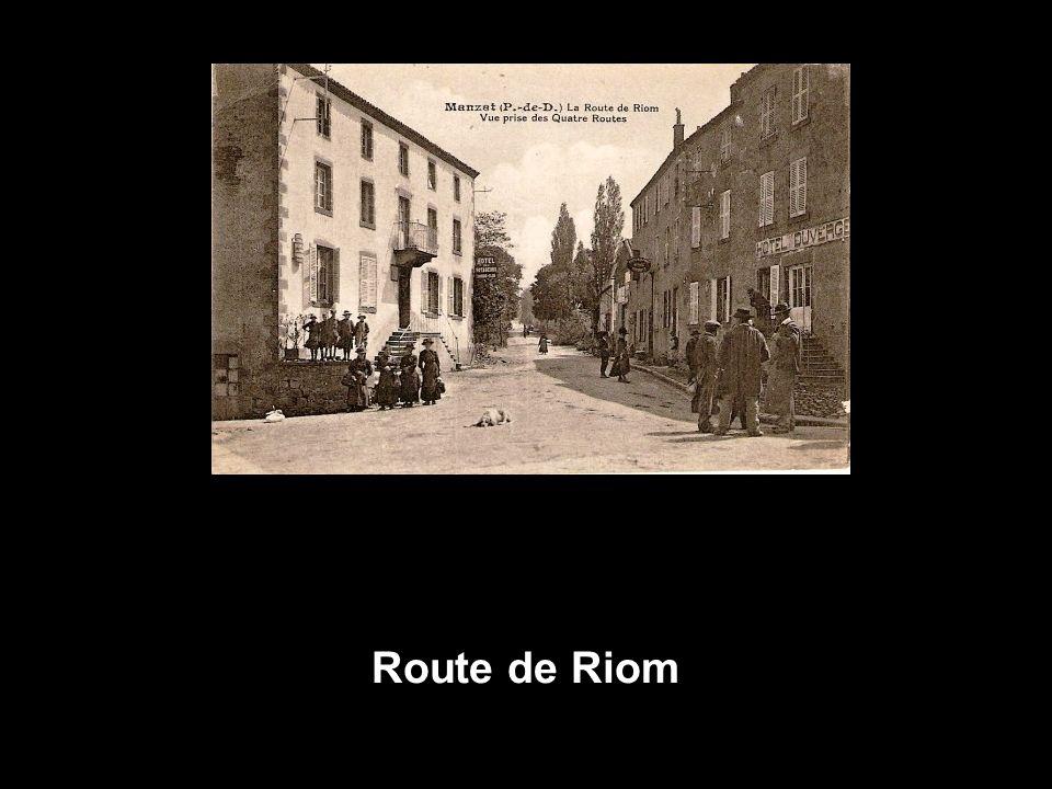 Route de Riom