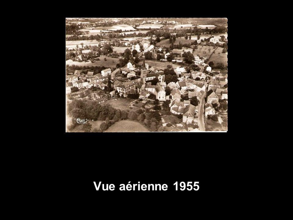 Vue aérienne 1955