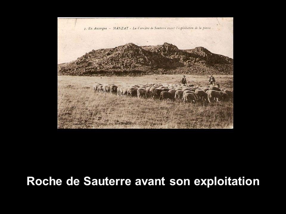 Roche de Sauterre avant son exploitation