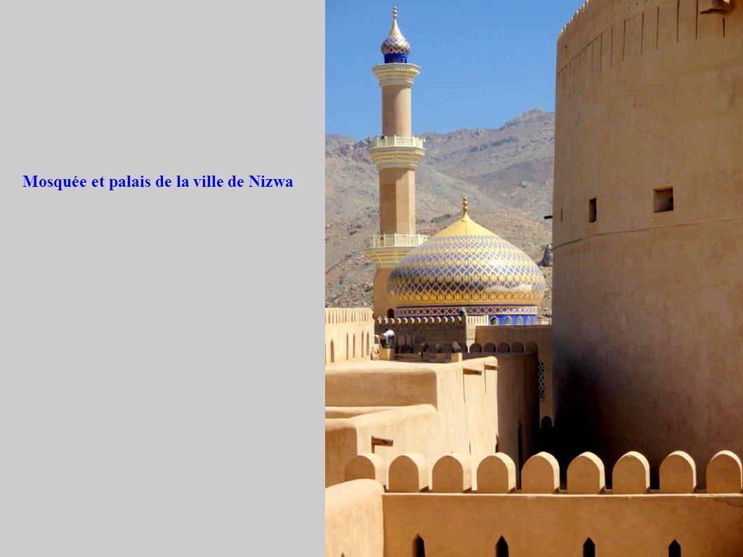 Mosquée et palais de la ville de Nizwa
