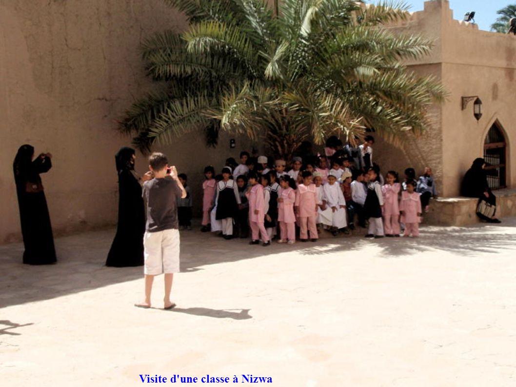 Visite d'une classe à Nizwa