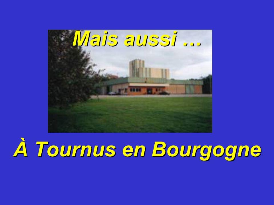 Mais aussi … À Tournus en Bourgogne Mais aussi … À Tournus en Bourgogne