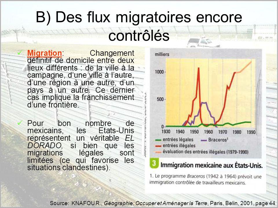 LE SYSTEME DES MAQUILADORAS Les Maquiladoras, spécificité mexicaine (...) «...basée sur un facteur géographique : la frontière entre les Etats-Unis et