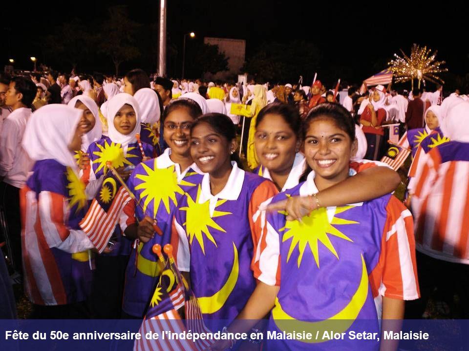 Fête du 50e anniversaire de l'indépendance en Malaisie / Alor Setar, Malaisie