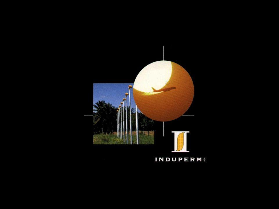 1.Induperm A/S est fondée en 1969 et sest depuis spécialisée dans le développement et la production déquipements pour des installations déclairage aérodrome.