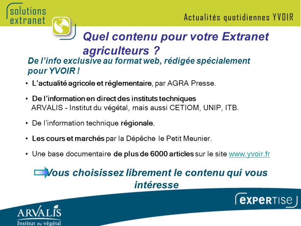 Lactualité agricole et réglementaire, par AGRA Presse.
