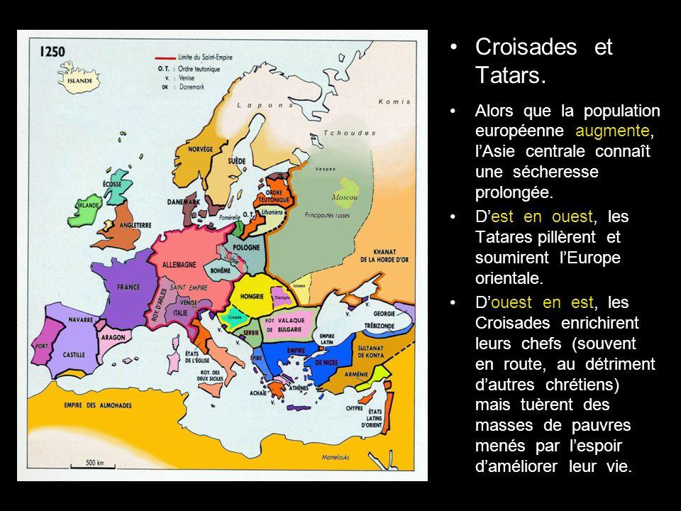 Croisades et Tatars.