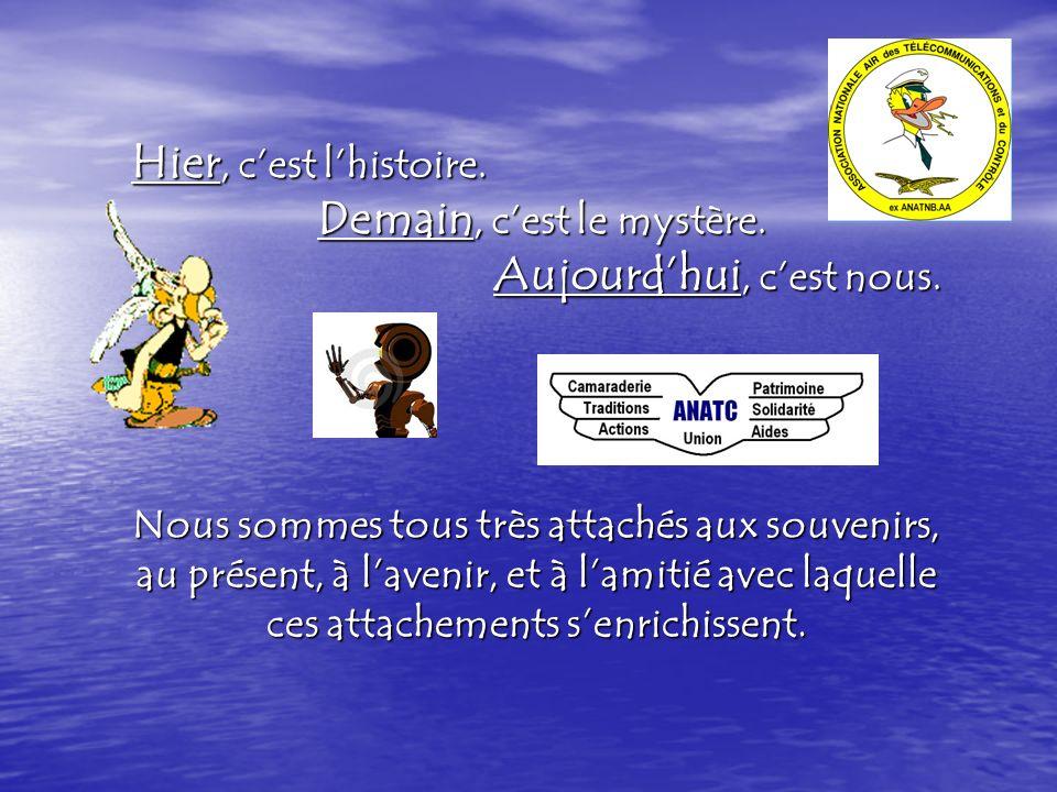 Présentation de lANATC A.N.A.T.C - Cité de lair 5 bis, avenue de la Porte de Sèvres 75509 – Paris Cedex 15 Permanence le lundi et le jeudi de 9h30 à 15h00 à la CABA 117 (parcelle A - bâtiment n° 73 – 1 er étage - pièce 1.08) Téléphone : 01.45.52.28.79 ou PNIA 811.167.2879 http://www.anatc-tnb.fr - anatc-tnb@wanadoo.fr 06.62.80.46.09 Fin