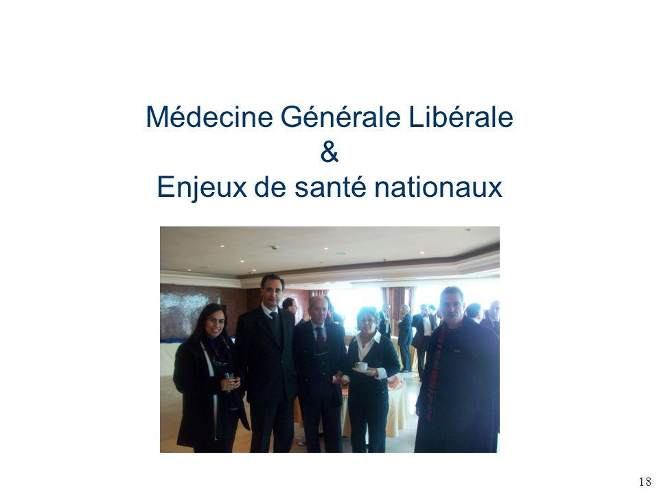 Médecine Générale Libérale & Enjeux de santé nationaux 18