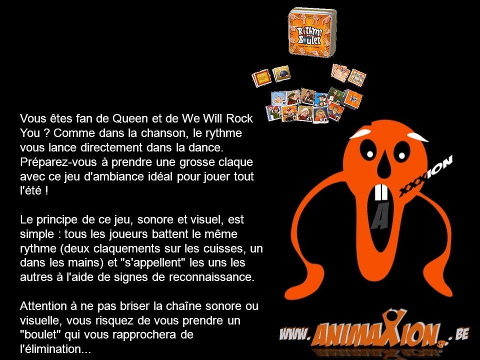 Vous êtes fan de Queen et de We Will Rock You ? Comme dans la chanson, le rythme vous lance directement dans la dance. Préparez-vous à prendre une gro