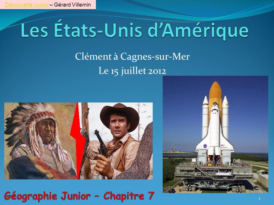 Clément à Cagnes-sur-Mer Le 15 juillet 2012 1 Découverte Junior Découverte Junior – Gérard Villemin