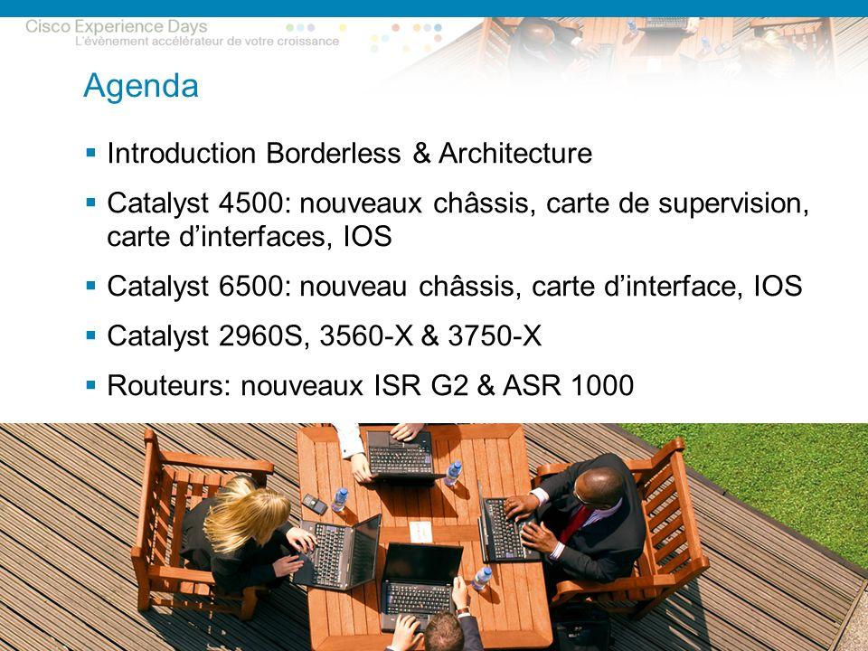 © 2009 Cisco Systems, Inc. All rights reserved.Cisco ConfidentialPresentation_ID 2 Agenda Introduction Borderless & Architecture Catalyst 4500: nouvea