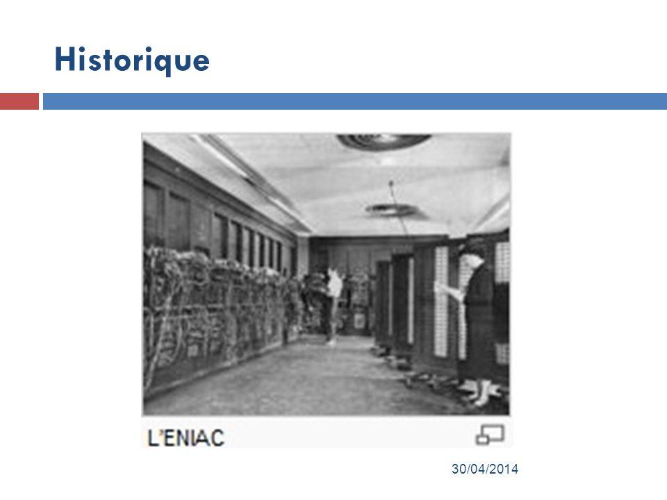 Historique 30/04/2014
