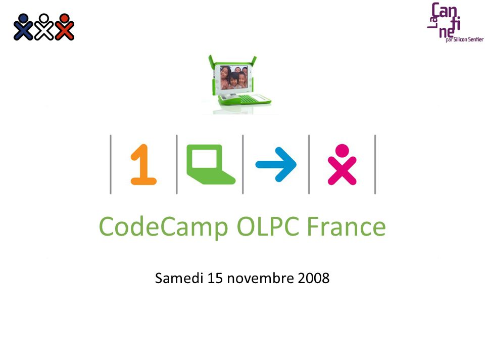 Samedi 15 novembre 2008 CodeCamp OLPC France