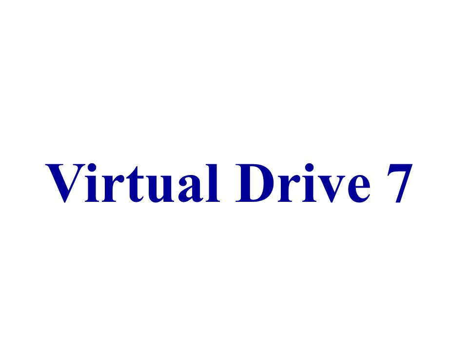 Virtual Drive 7