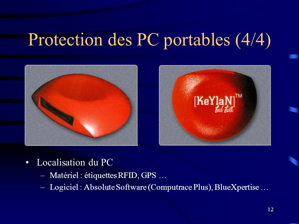 Protection des PC fixes