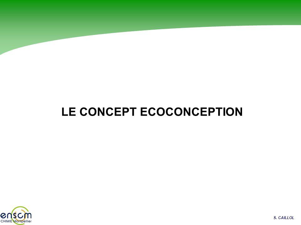 S. CAILLOL LE CONCEPT ECOCONCEPTION