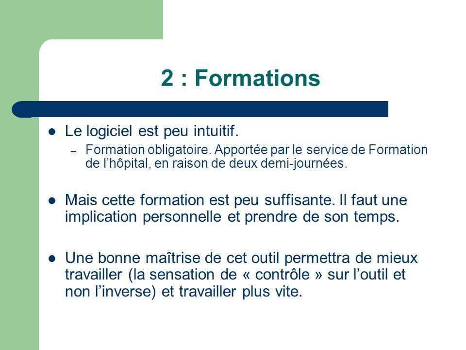 3 : Observations Le principal défaut à noter sur ce programme est quil peut être très lent.