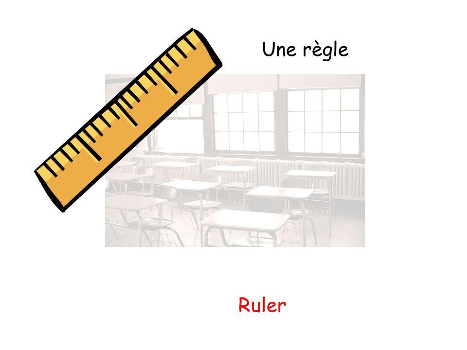 Une règle Ruler