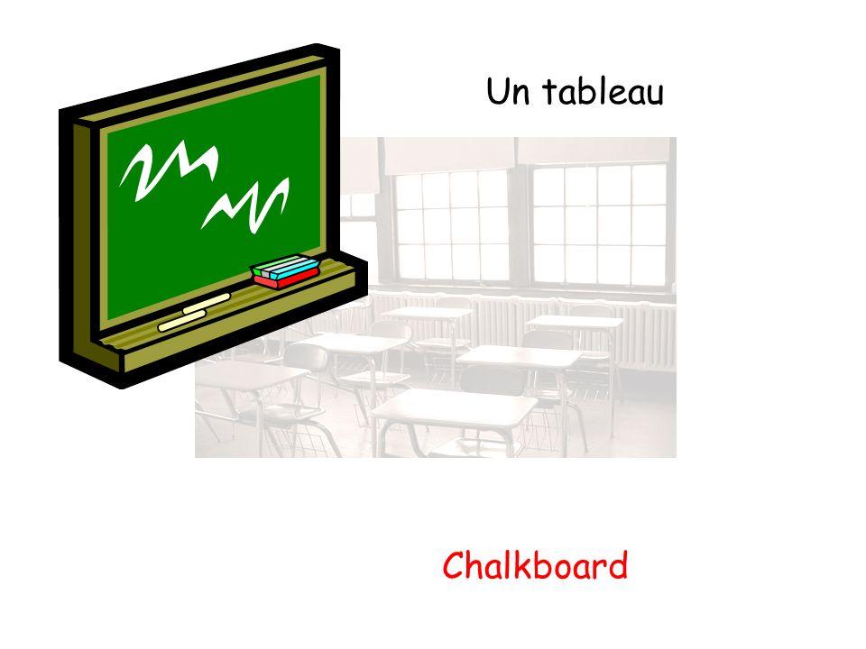 Un tableau Chalkboard
