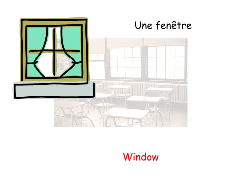 Une fenêtre Window
