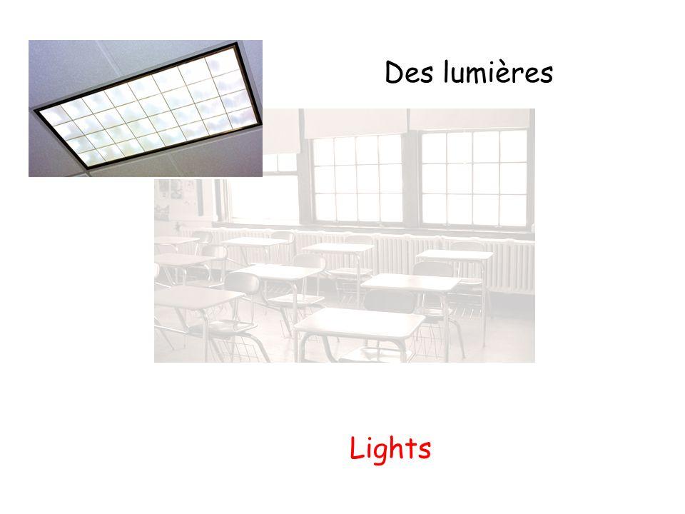 Des lumières Lights