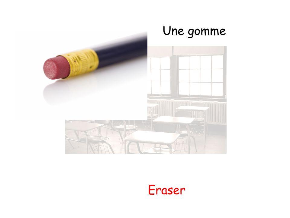 Une gomme Eraser