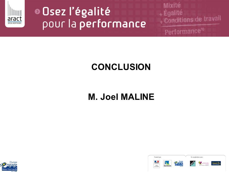 CONCLUSION M. Joel MALINE