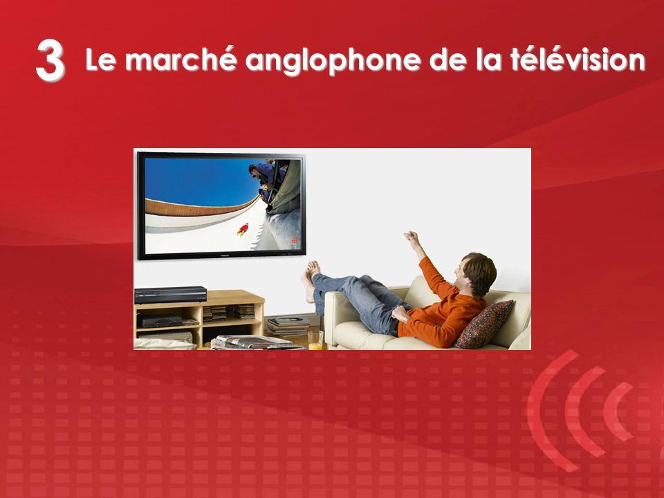 Le marché anglophone de la télévision 3