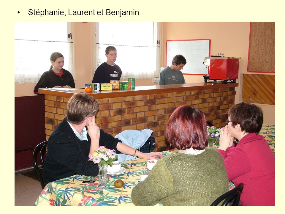 Stéphanie, Laurent et Benjamin
