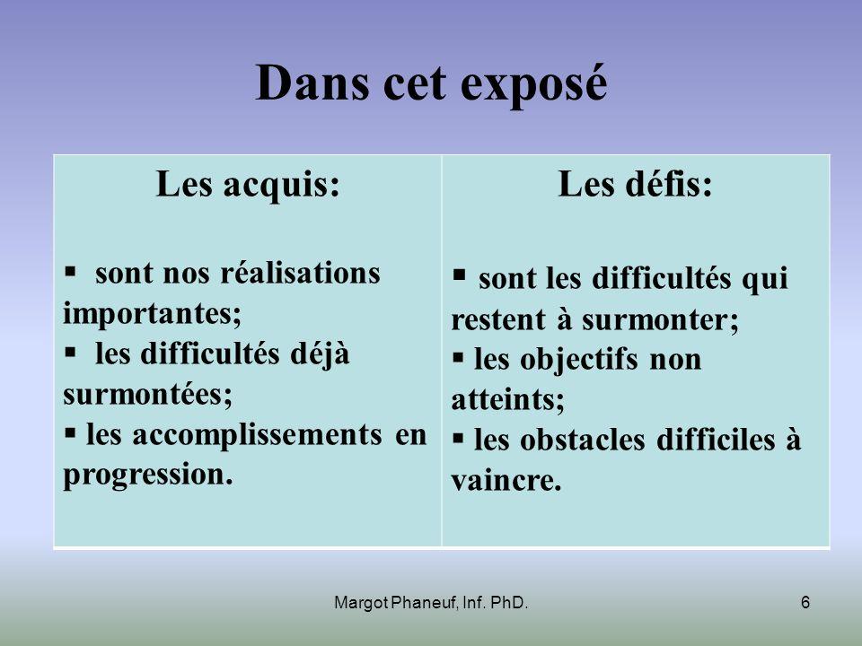Voici les concepts sur lesquels nous allons réfléchir ensemble Image: CEGEP dAlma Margot Phaneuf, Inf.