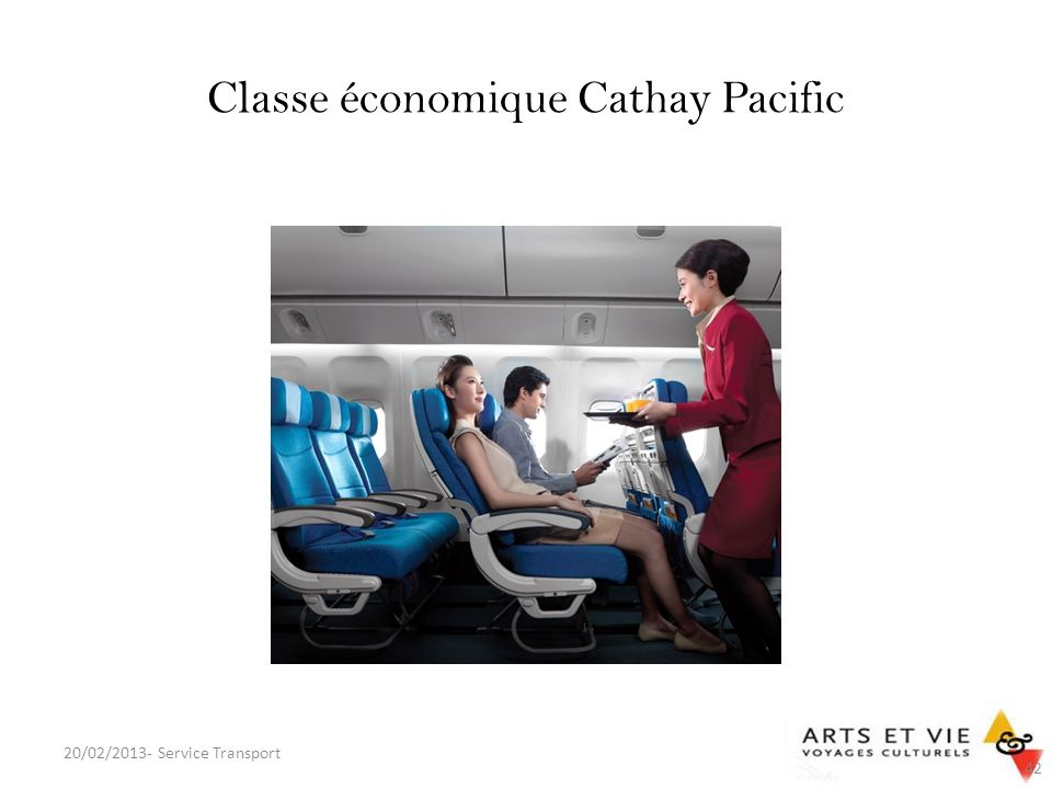Classe économique Cathay Pacific 20/02/2013- Service Transport 42