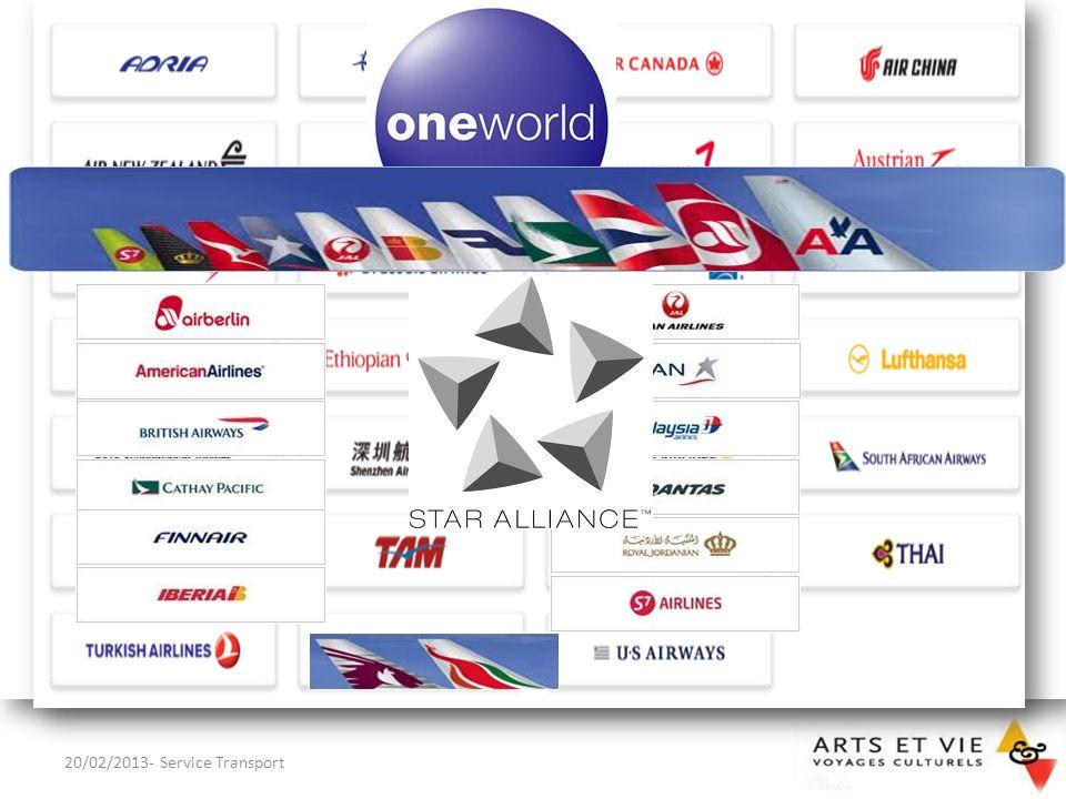 Si le client souhaite plus de renseignements sur une compagnie, il peut consulter sur internet SKYTRAX (www.airlinesquality.com)www.airlinesquality.com 20/02/2013- Service Transport9