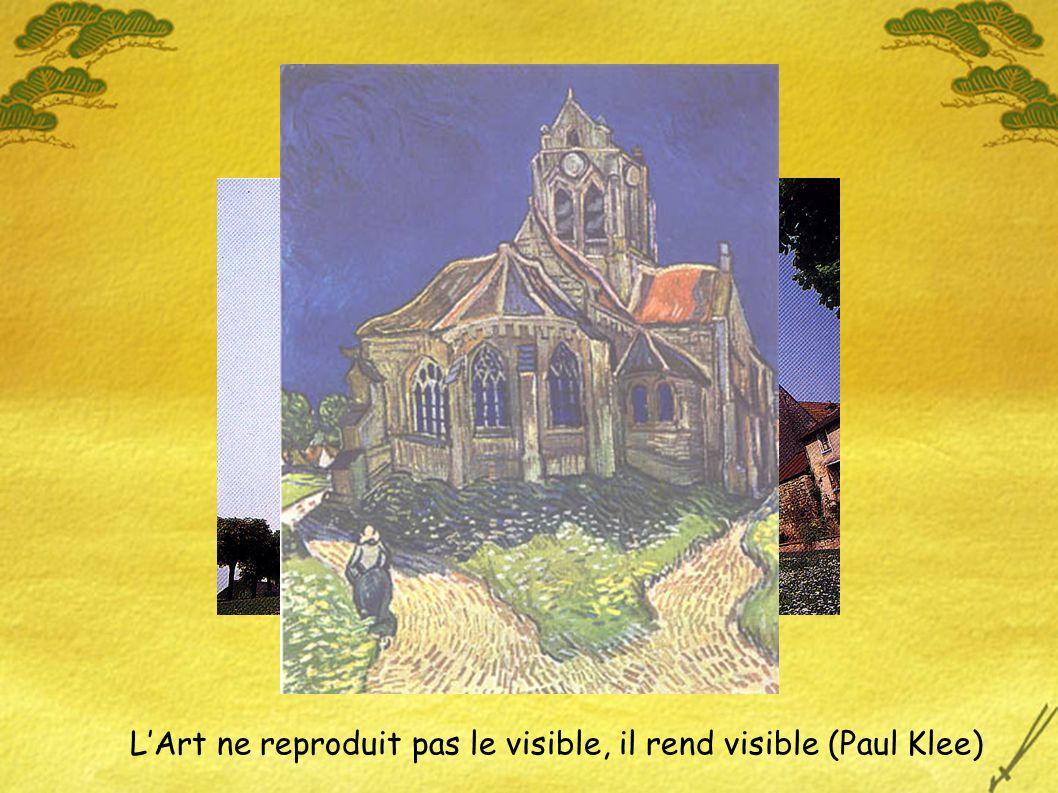 LArt ne reproduit pas le visible, il rend visible (Paul Klee)