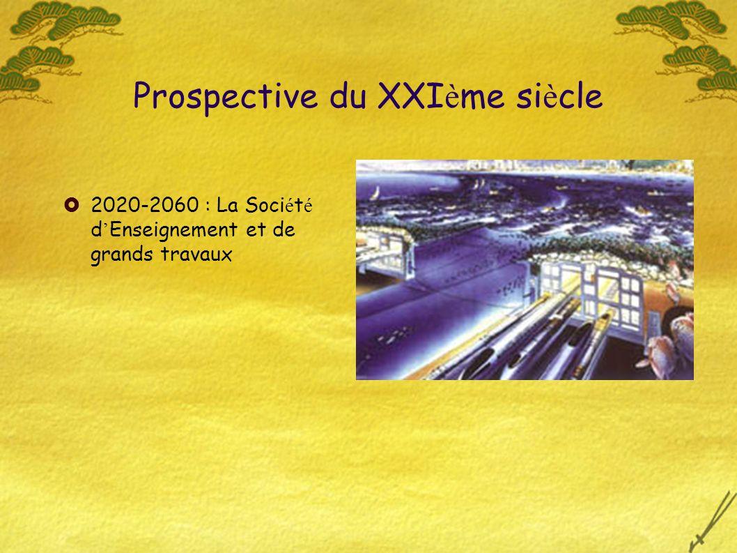 2020-2060 : La Soci é t é d Enseignement et de grands travaux Prospective du XXI è me si è cle