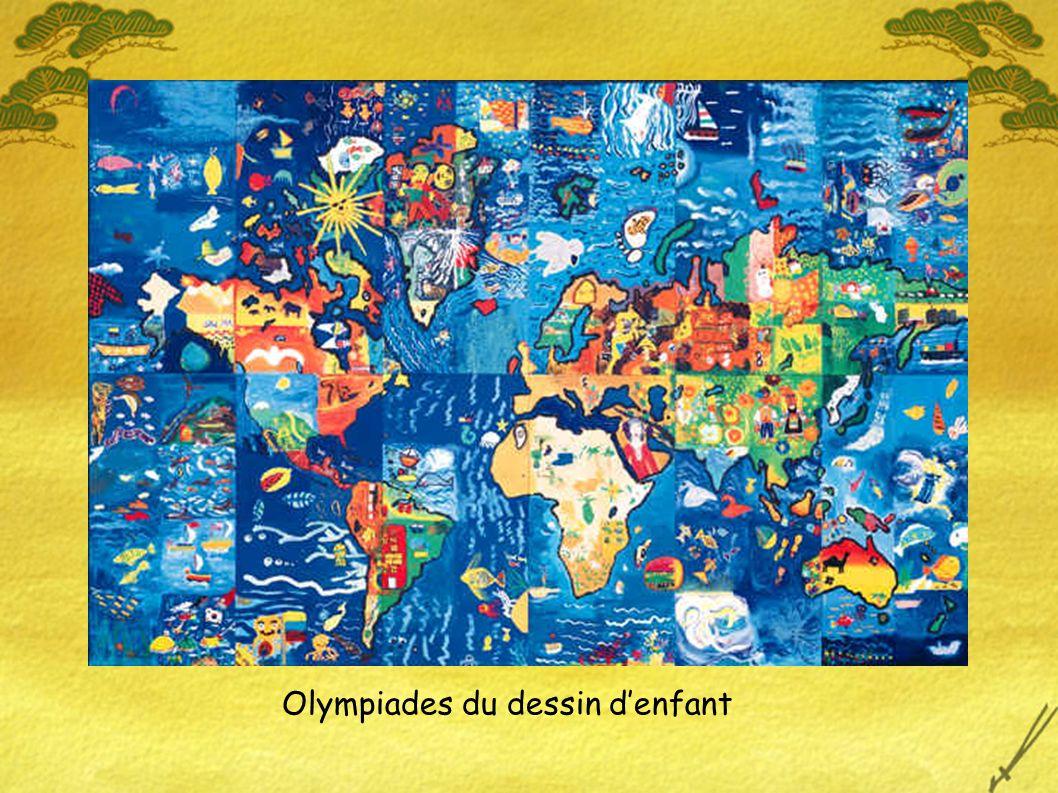 Olympiades du dessin denfant
