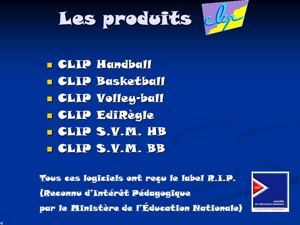 Modules CLIP Obs Pour portable ou pour Pocket PC Pour portable ou pour Pocket PC Au handball et au basketball Au handball et au basketball