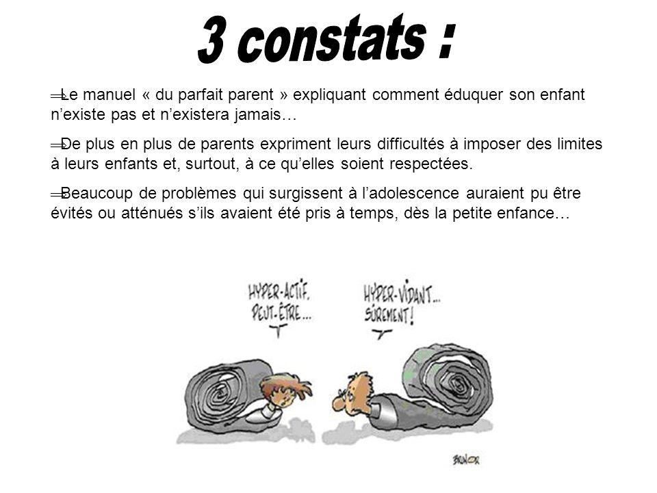 Le manuel « du parfait parent » expliquant comment éduquer son enfant nexiste pas et nexistera jamais… De plus en plus de parents expriment leurs diff
