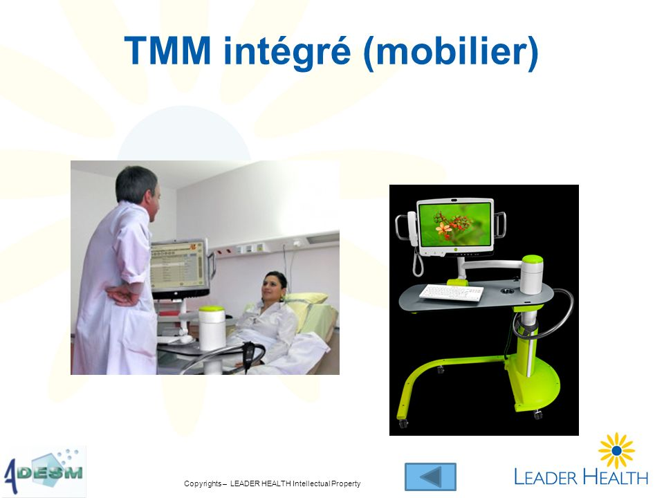 Copyrights – LEADER HEALTH Intellectual Property TMM intégré (mobilier)
