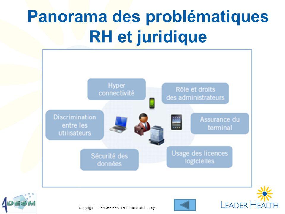 Copyrights – LEADER HEALTH Intellectual Property Panorama des problématiques RH et juridique